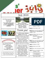 7. July 2018 Kids' Corner