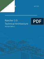 Rancher 2.0 Architecture - V0.8