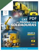 Catalogo Productos Soldaduras 2016