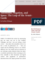 Autonomy, Negation, And Space