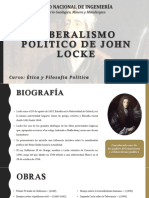 Liberalismo Político de John Locke
