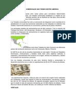 Acuerdos Comerciales Que Tienen Centro America