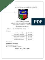 Informe 8 - q.a (Dureza)