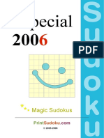 Sudoku Book Magic Es