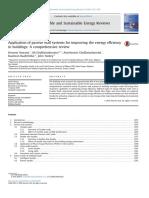 Aplicación de Sistemas de Pared Pasiva Para Mejorar La Eficiencia Energética
