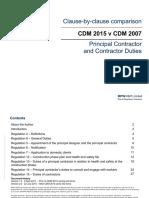 03 MPW RR CDM 2015 vs CDM 2007 Principal Contractor Contractor v2.0
