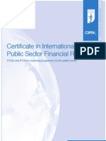 CIPFA (Certificate in International Public Sector Financial Reporting)