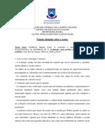 Estudo Dirigid22o Regina Leite