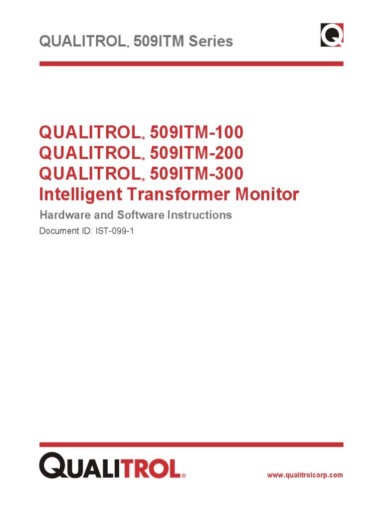 MANUAL QUALITROLpdf Resistor Relay - Qualitrol liquid level gauge wiring diagram