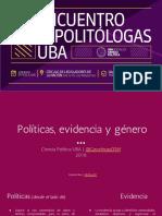 Género, datos y OSM (5to Encuentro Politólogas UBA 2018)