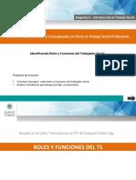 Roles y Funciones Del Trabajador Social