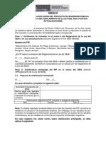 Informacion Para La Evaluacion Preliminar Para La Categorizacion de Los Pip de Acuerdo Al Ambient