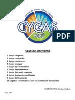 CYCAS ACADEMIA - Juegos de Aprendizaje 2014