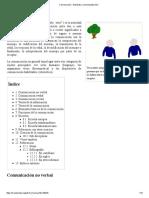 Comunicación - Wikipedia, La Enciclopedia Libre