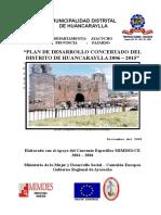 Pdc - Huancaraylla 2006-2015