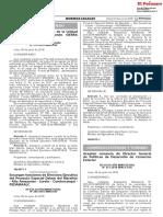 RM 241-2018-MINCETUR Aceptan Renuncia de Director General de Políticas de Desarrollo de Comercio Exterior