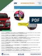 c0239 15 Fiat Doblo 2015 Dicas de Instalacao Do Alarme Positron Pv