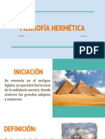 FILOSOFÍA HERMÉTICA