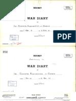 21. War Diary - May 1941