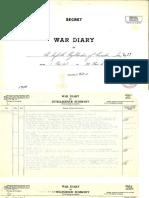 15. War Diary - Nov. 1940
