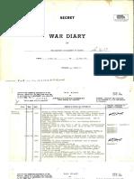 9. War Diary - May 1940