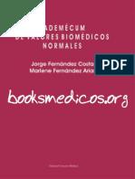 Vademecum de Valores Biomedicos Normales PDF
