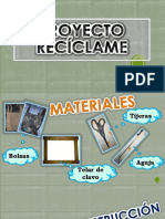 PROYECTO reciclame