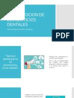 LA PROMOCION DE LOS SERVICIOS DENTALES.pptx
