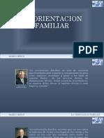 La Orientacion Familiar