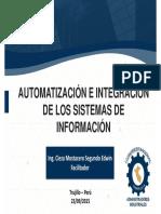 Slide_1.0 (Conferencia - Automatización e Integración de Los Sistemas de Información)