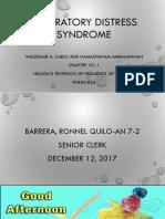 Respiratory Distress Syndrome 1