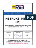 9. IKE-04.1.1.19 IK Performance Test Induct Draft Fan