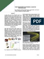 Carbon Nanotube Transparent Electrodes a Case For