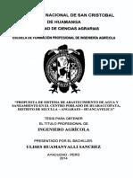 Tesis IAG43 HuaNCAVELICA
