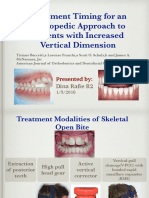 Treatment Timing for an Ortho Approach to Pt w Increased Vertical Dim_Dina 04