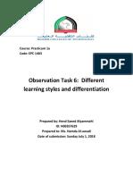 observation task 6