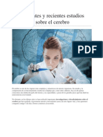5 Interesantes y Recientes Estudios Científicos Sobre El Cerebro