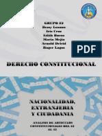 Presentación Nacionalidad y Ciudadania en Honduras