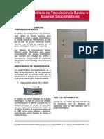 Tablero Intelilite Seccionador AMF25