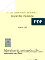 Acute Mesenteric Ischemia 2016 medicina