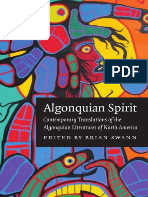 Native Literatures of the Americas) Brian Swann-Algonquian