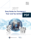 _eng_help_2017 Easy Guide for Foreigners Year-End Tax Settlement