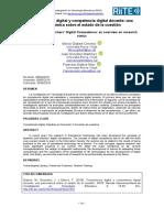 Competencia Digital y Competencia Digital Docente