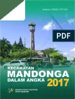 Kecamatan Mandonga Dalam Angka 2017