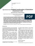 Agrobacterium-mediated transformation of Dendrobium.pdf