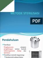Metode Sterilisasi-Kelas A