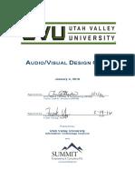 Audio Visual Design Guide-2016