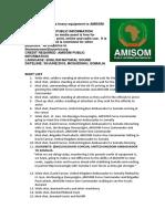 UK Donates Heavy Equipment to AMISOM