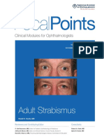 Adult Strabismus