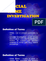 Prelim Special Crime Investigation